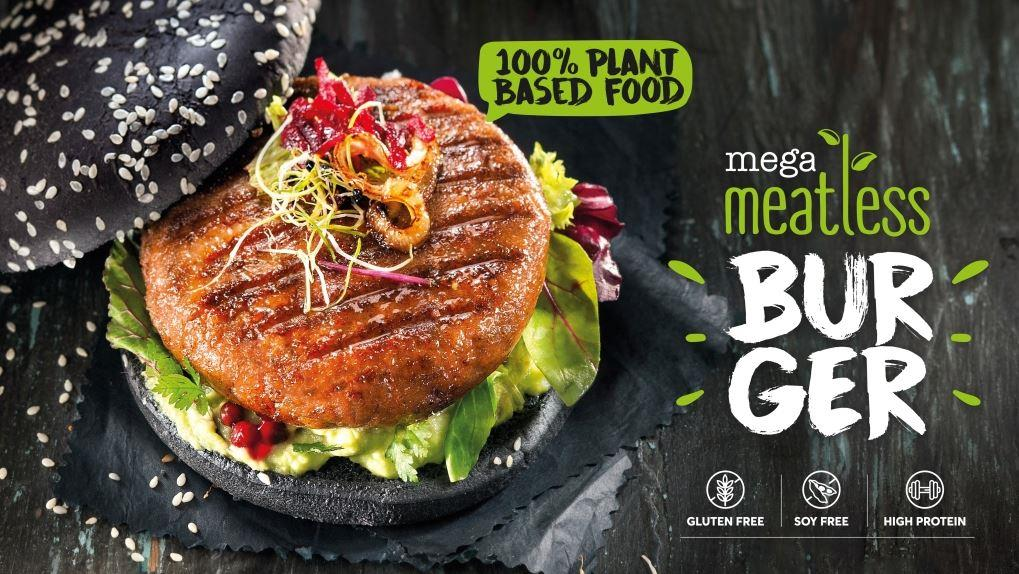 κάνδαυλος meatless black burger