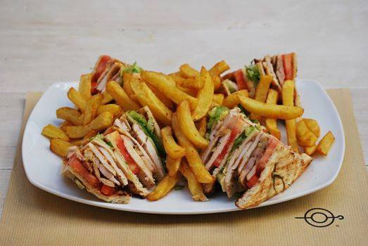 Club Sandwich - My Plate