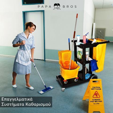 Επαγγελματικά Συστήματα Καθαρισμού - Papa Bros