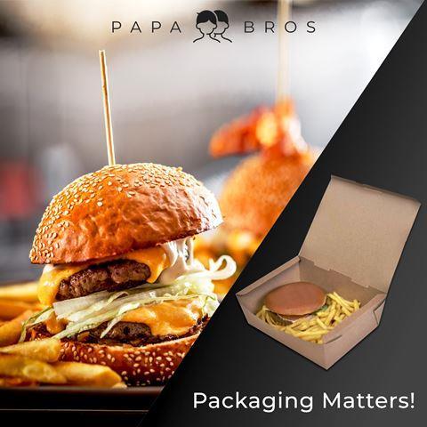 Πακέτο για Burger - Papa Bros