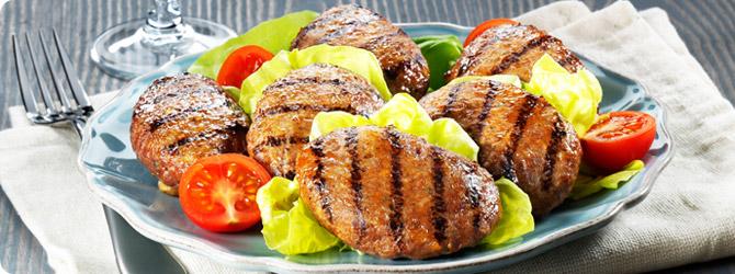 Μπιφτέκια Nosti Most στο πιάτο