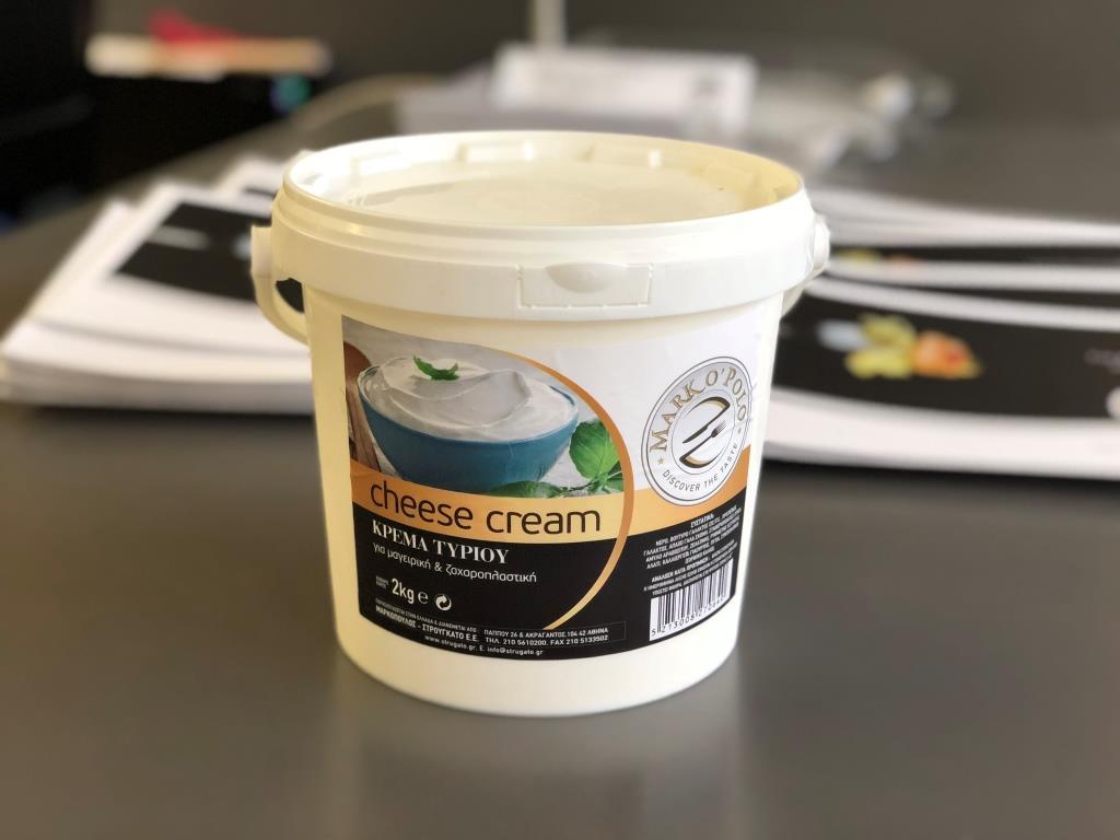 Cheese Cream Μαρκόπουλος  - Στρουγκάτο